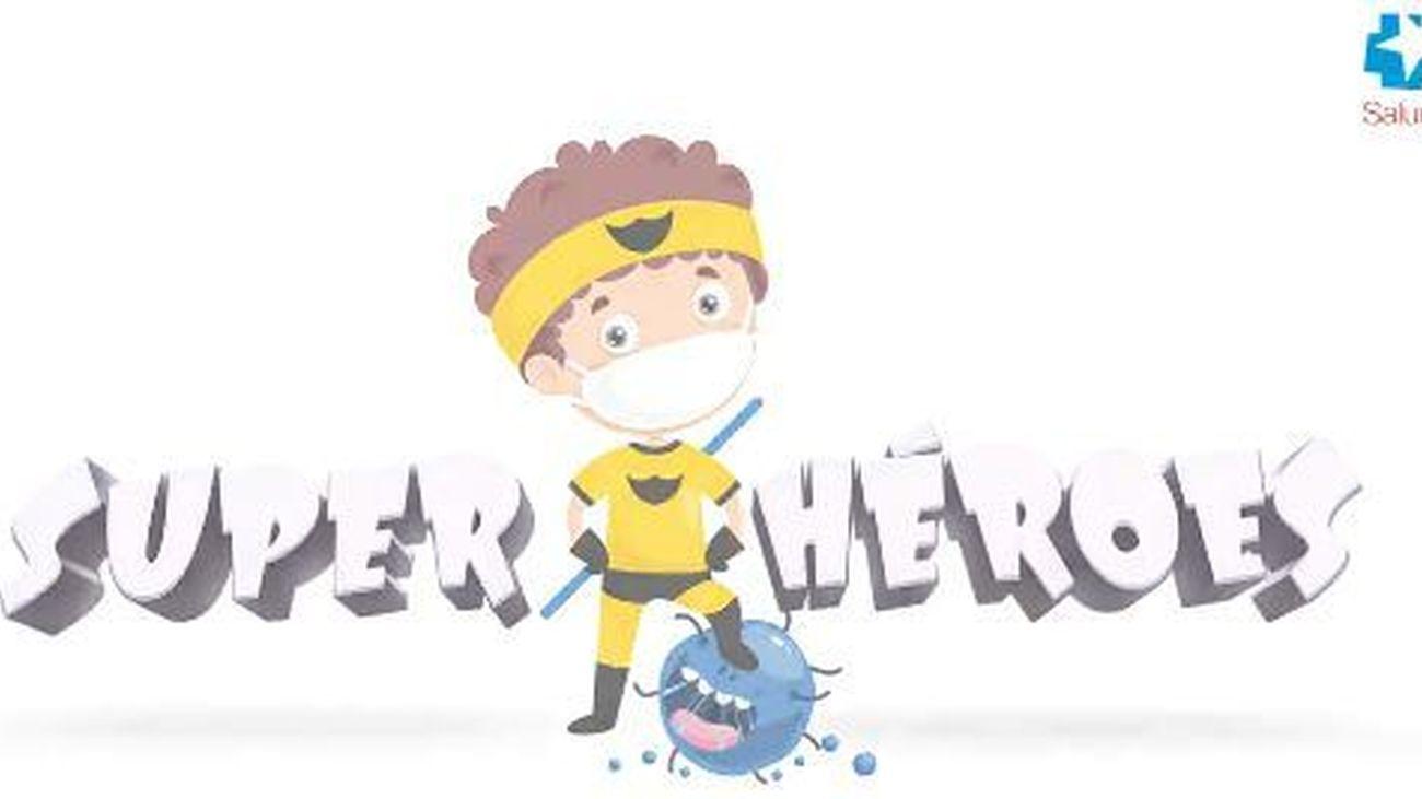 'Superhéroes del coronavirus', la nueva campaña de Sanidad para concienciar a los más pequeños frente al virus