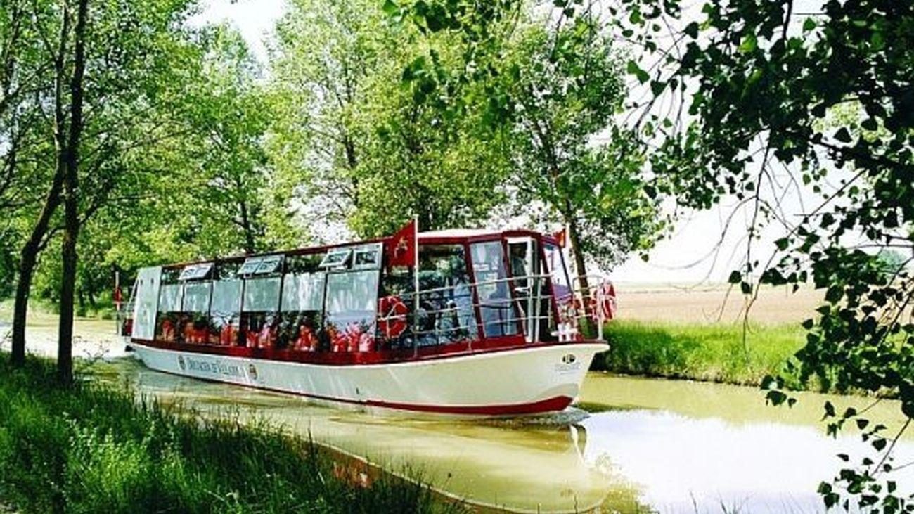 El Tren para visitar el Canal de Castilla, nueva opción turística para este verano 2020