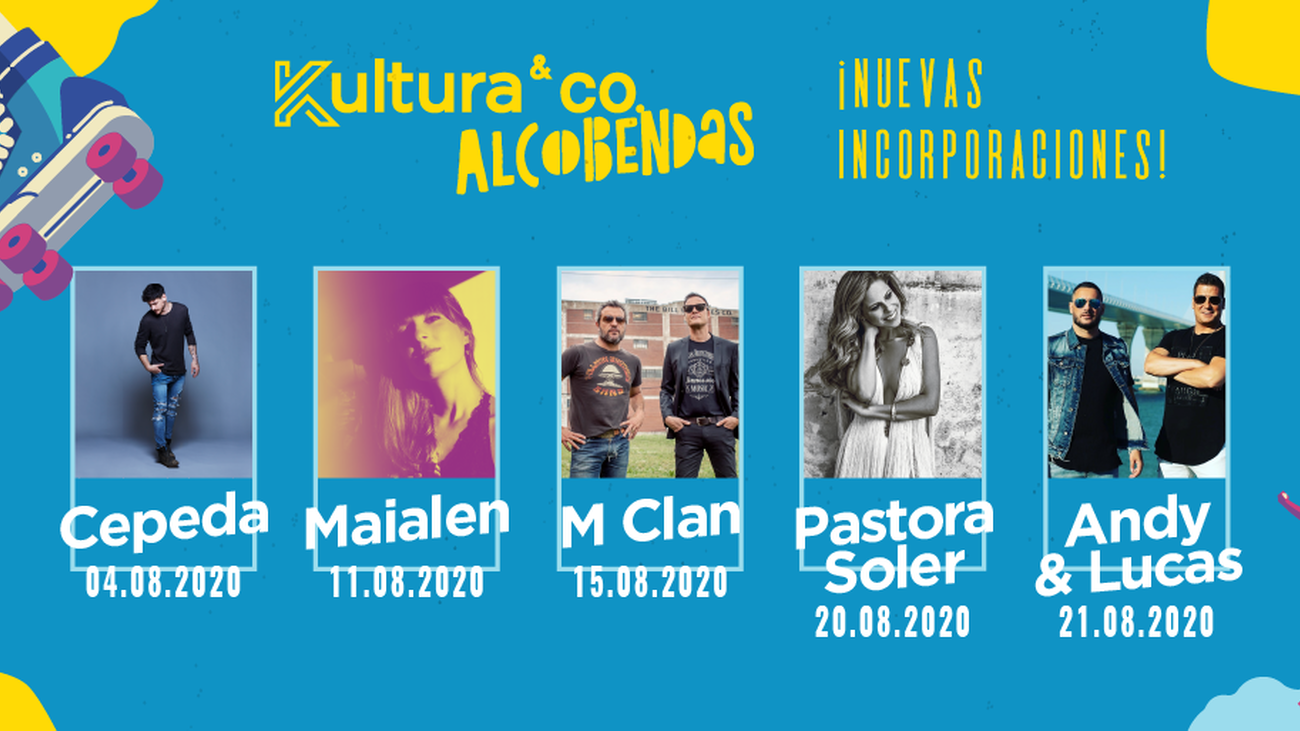 El programa previsto en el festival Kultura&Co de Alcobendas