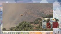 Unas 300 familias duermen fuera de casa por el incendio de Robledo de Chavela