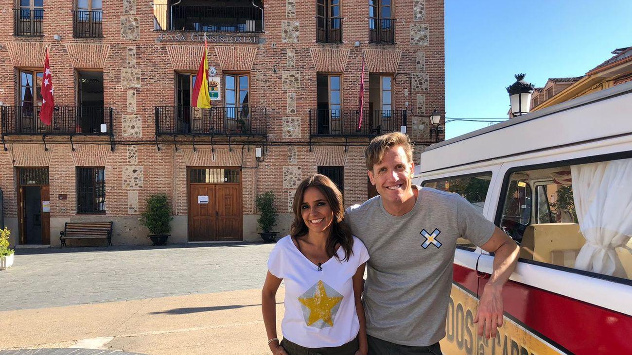 'Dos en la carretera', presentado por Carmen Alcayde y Óscar Martínez