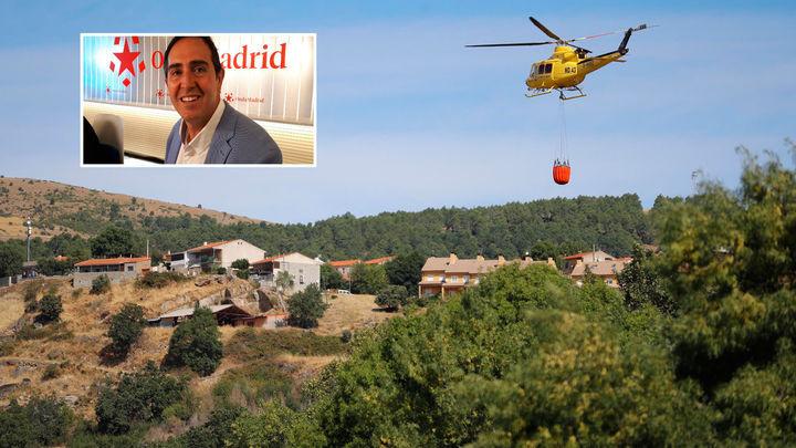 El alcalde de Robledo de Chavela reclama más inversión en prevención para evitar incendios como el de su municipio