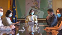 Ciudadanos  se abre a negociar los PGE  con Podemos tras la reunión mantenida con Calvo