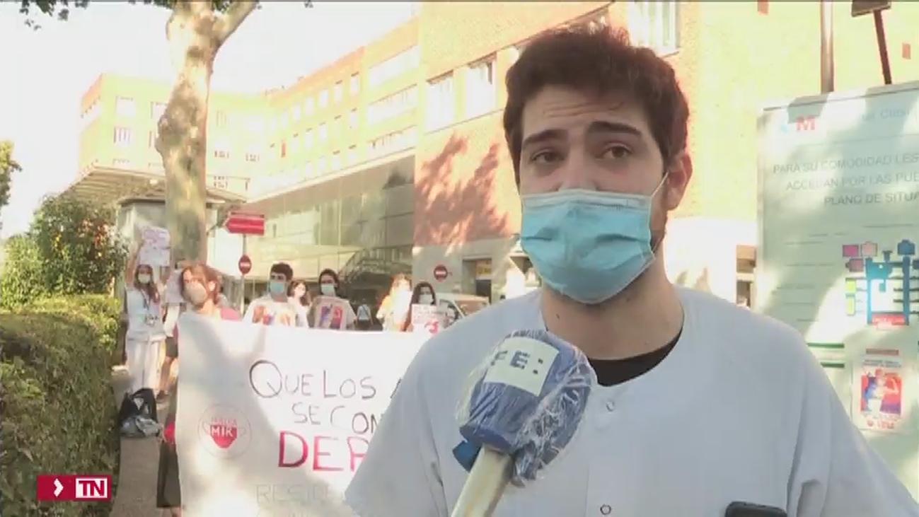 Los MIR cumplen 23 días de huelga sin acuerdos con Sanidad