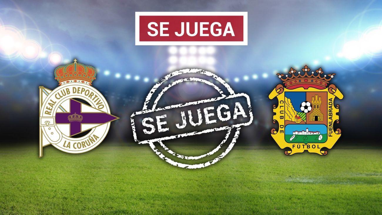 El Deportivo-Fuenlabrada se jugará el 5 de agosto a las 20.00 horas