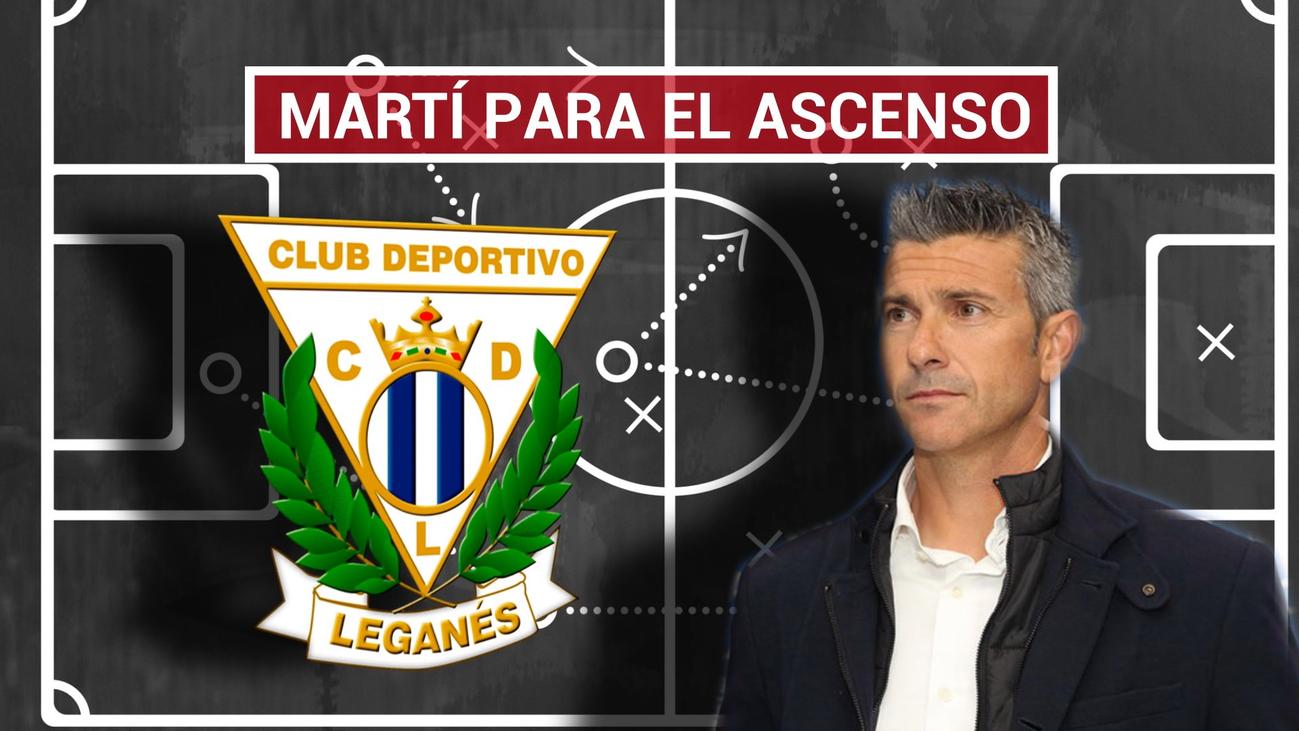 """Martí: """"Quiero un Leganés valiente y con ambición para ir a por el rival"""""""