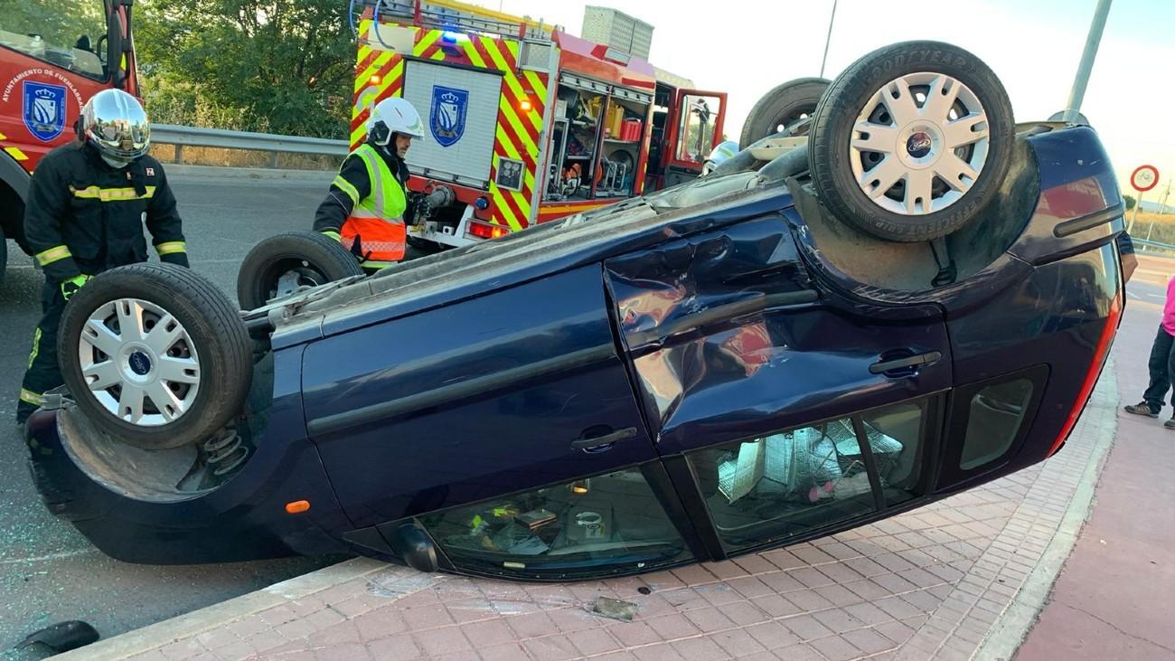 Accidente en Fuenlabrada