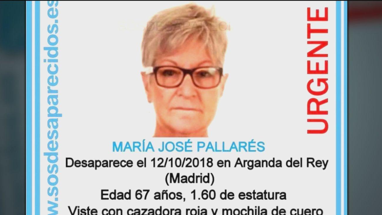 María José Pallarés, asesinada en Arganda en 2018