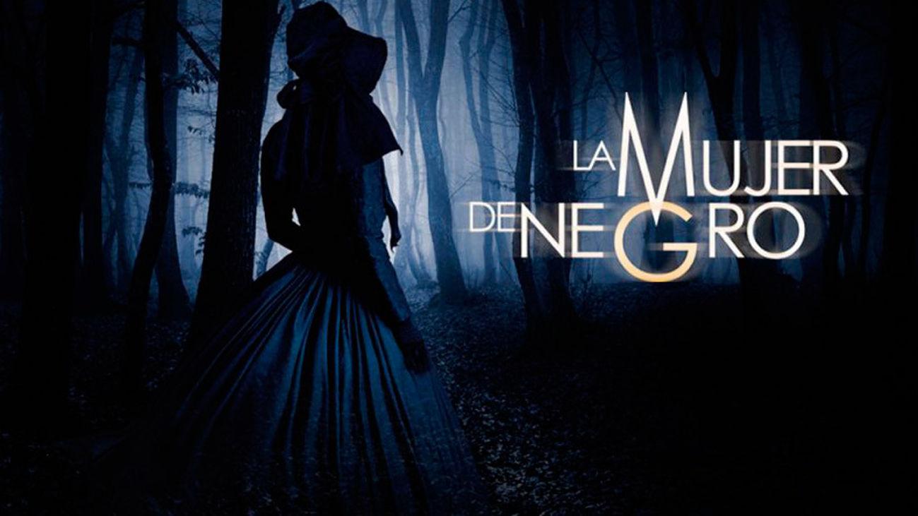 Cartel de la obra de teatro 'La mujer de negro'