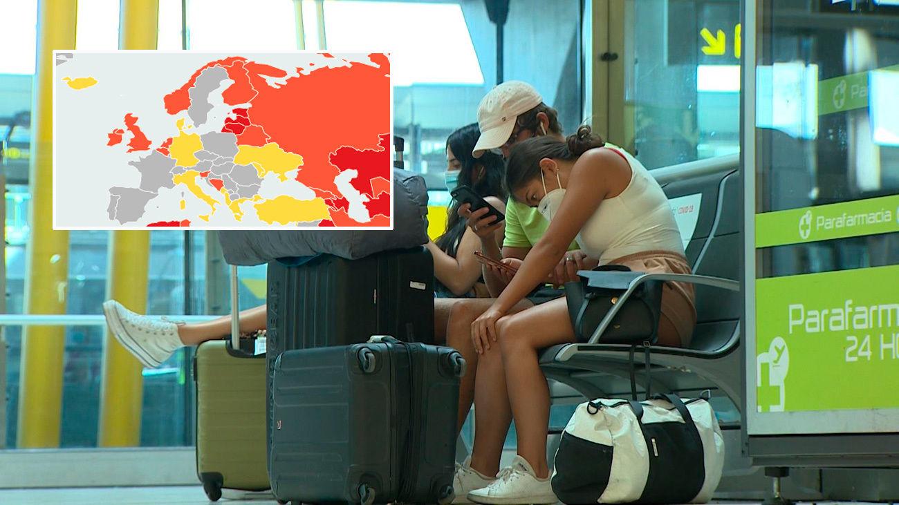 Estos son los países de la UE con restricciones a los viajeros que llegan o van a España
