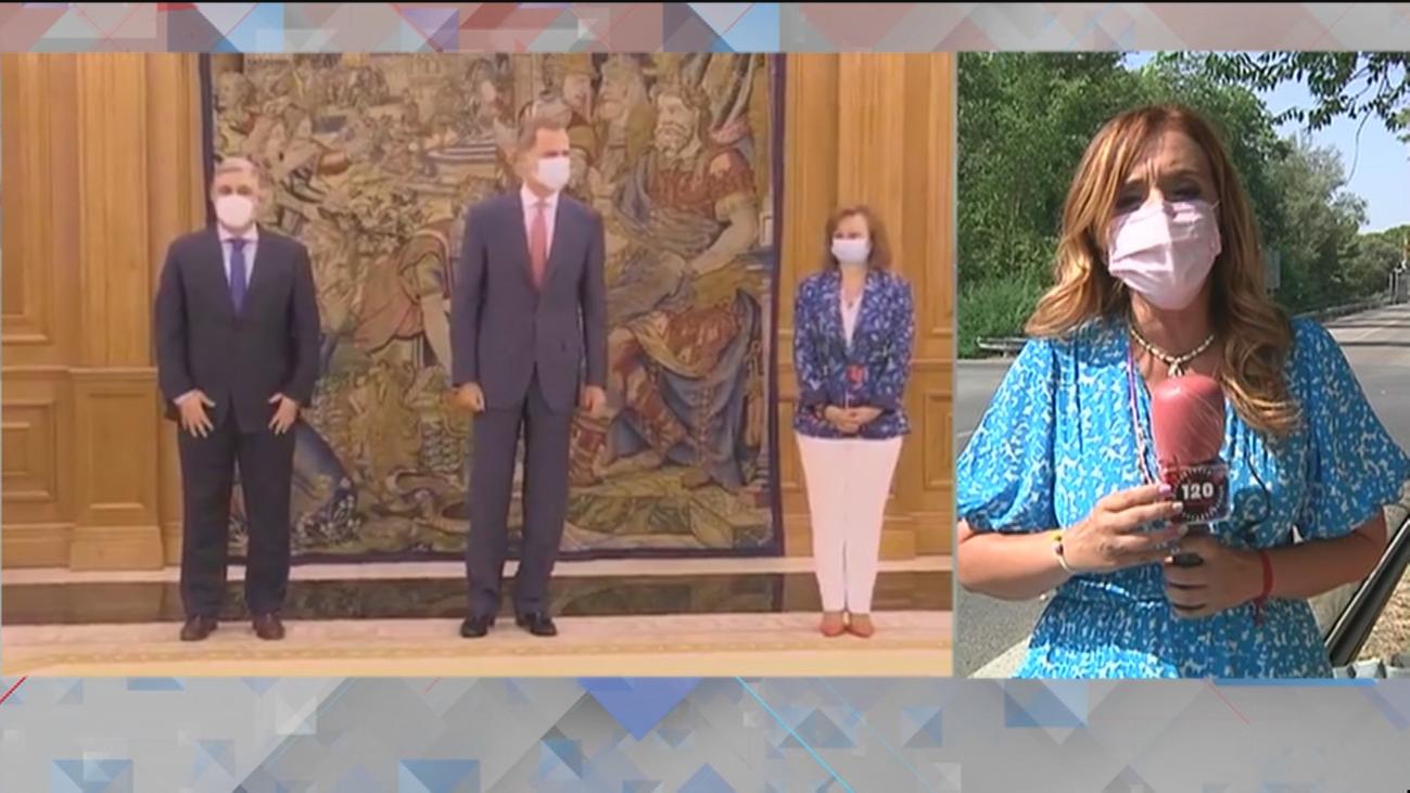 Felipe VI retoma su agenda tras el anuncio de su padre de abandonar España