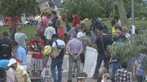 Mercadillo ilegal en Vallecas sin ningún tipo de seguridad contra el coronavirus