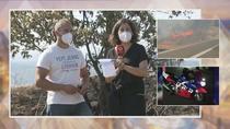 Un testigo del incendio de Robledo acusa a los moteros de preocuparse de la moto y de no sofocar el fuego