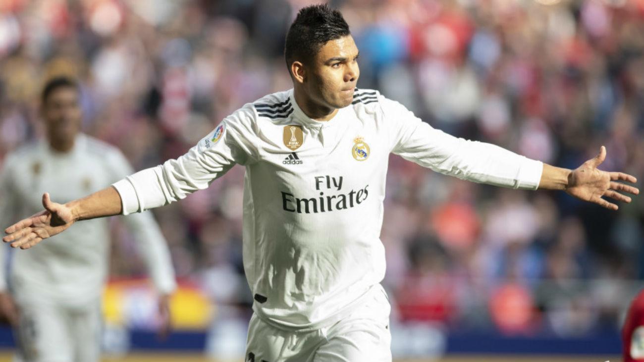 """Casemiro: """"Somos el Real Madrid y sabemos que podemos pasar ante el City"""""""