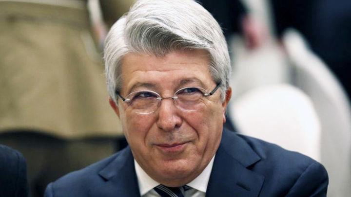 "Enrique Cerezo: ""Simeone es único e indiscutible"""