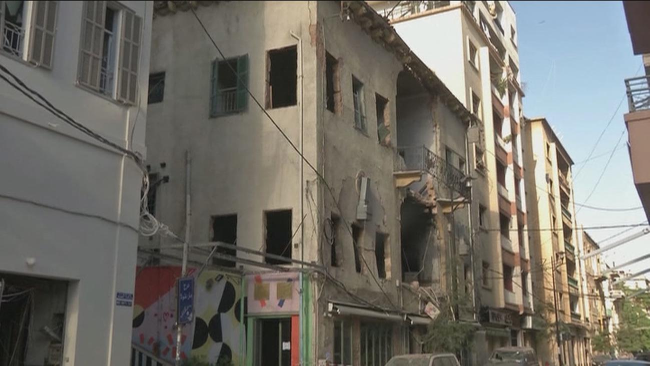 Continúa la búsqueda de supervivientes en el Líbano tras la explosión del Puerto de Beirut