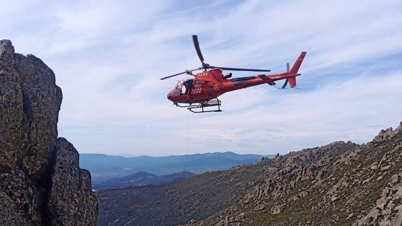 Helicóptero de los GERA