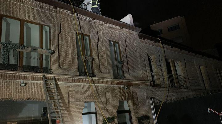 Extinguido un incendio sin heridos declarado en una vivienda de la  calle Génova