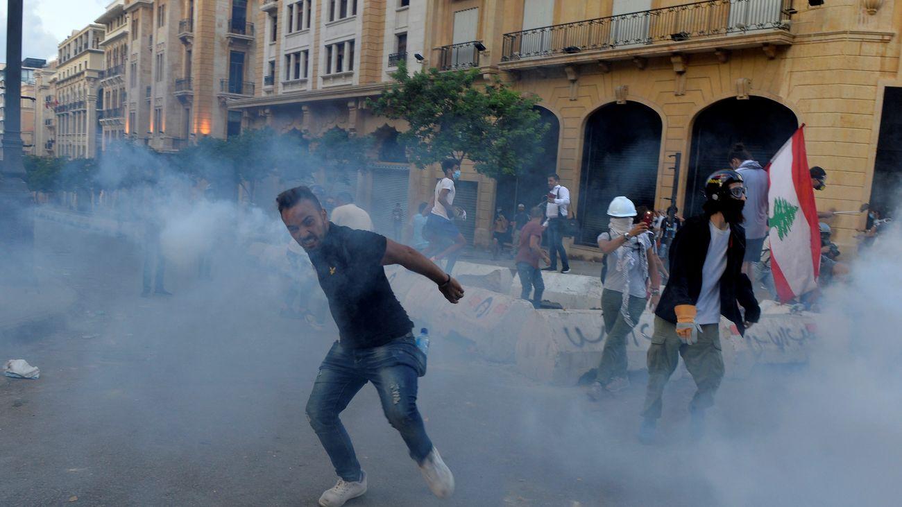 Dimite el Gobierno de Líbano tras las explosiones en el puerto de Beirut