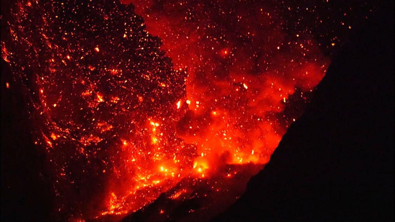 Escena del documental 'Odisea volcánica'