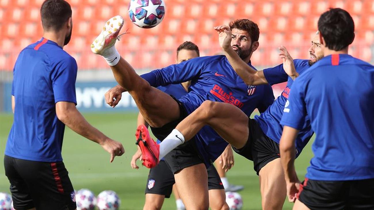 Correa y Vrsaljko, contagiados de covid-19 del Atlético, mientras el resto del equipo da negativo