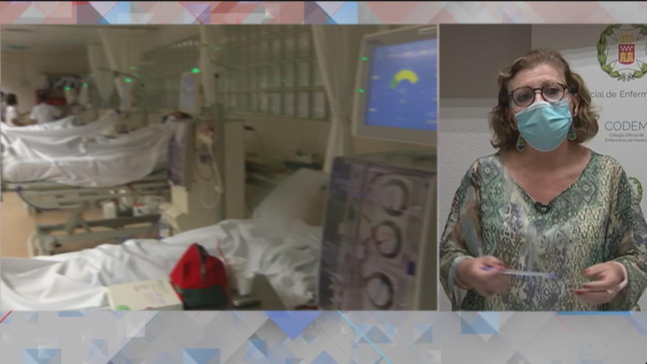 """El Colegio de Enfermería afirma que, actualmente, """"no hay presión hospitalaria"""" en Madrid"""