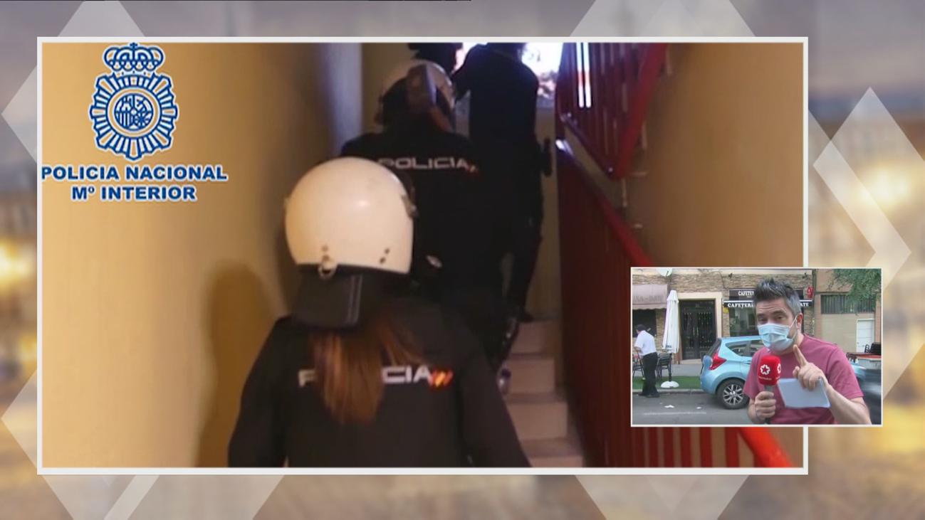 Dos detenidos por robar en prostíbulos clandestinos situados en varios pisos de Madrid
