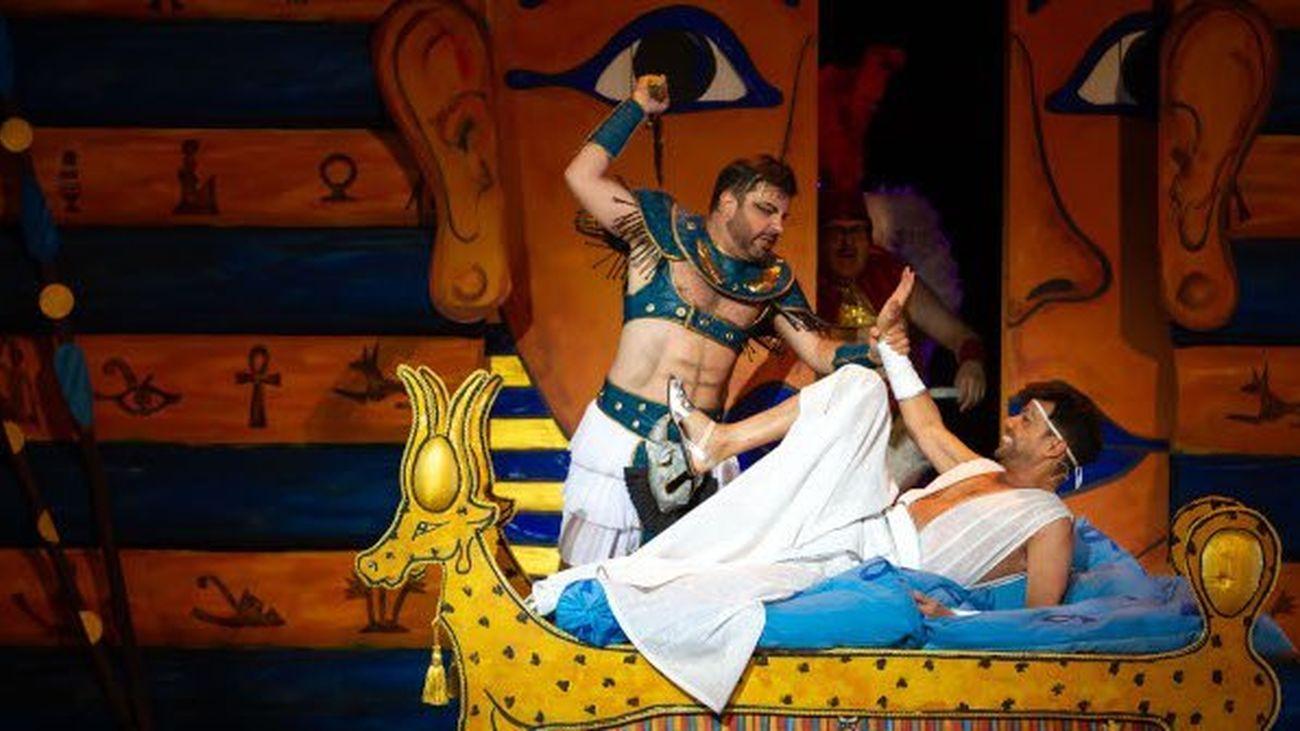'La Corte del Faraón', en los Veranos de la Villa