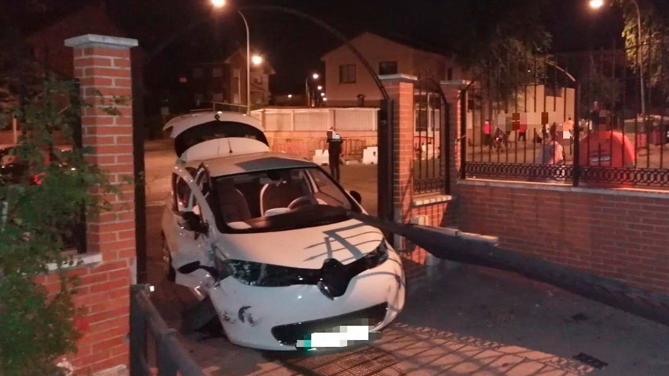 Intervención de la policía local de Valdemoro