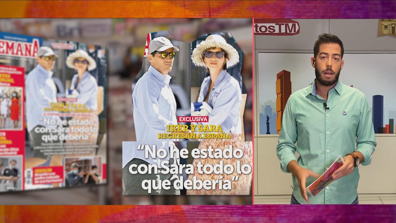 Iker Casillas se sincera sobre su relación con Sara Carbonero