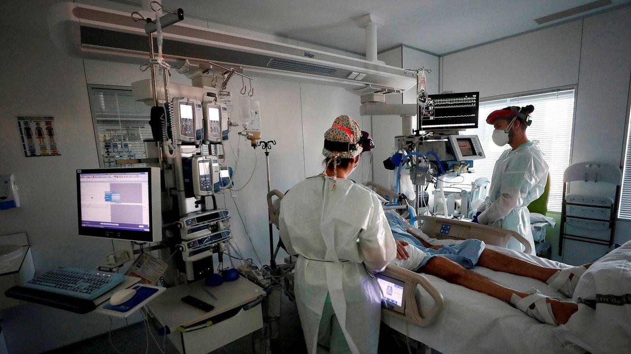 UCI del Complejo hospitalario de Navarra
