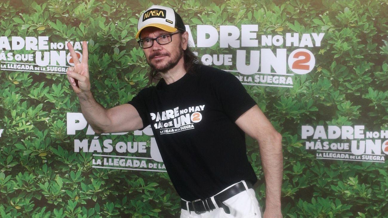 El actor y director de cine Santiago Segura