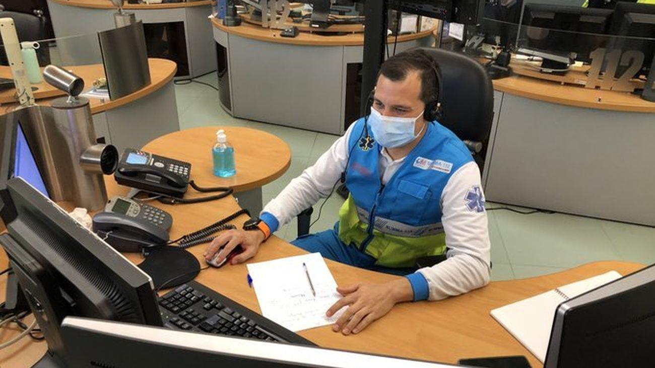 Emergencias Comunidad de Madrid 112