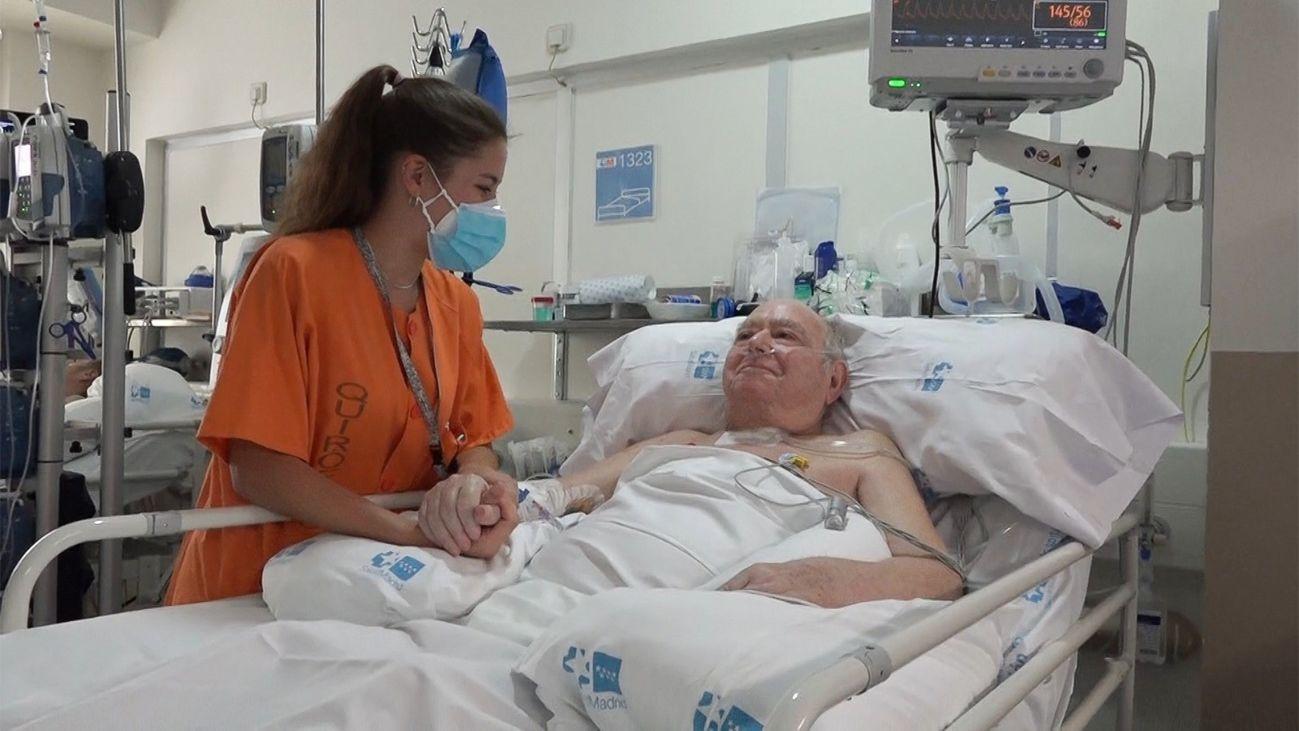 El paciente que más tiempo ha estado ingresado en el Gregorio Marañón