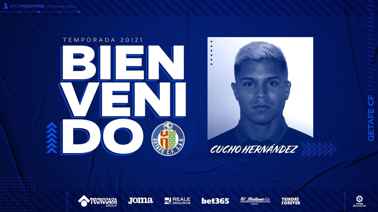 """El """"Cucho"""" Hernández, nuevo jugador del Getafe"""