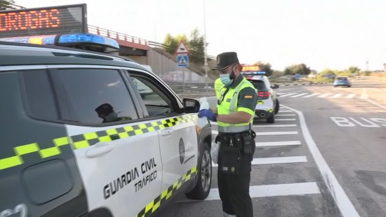 Se incentivan los controles en las carreteras madrileñas con la 'Operación salida'