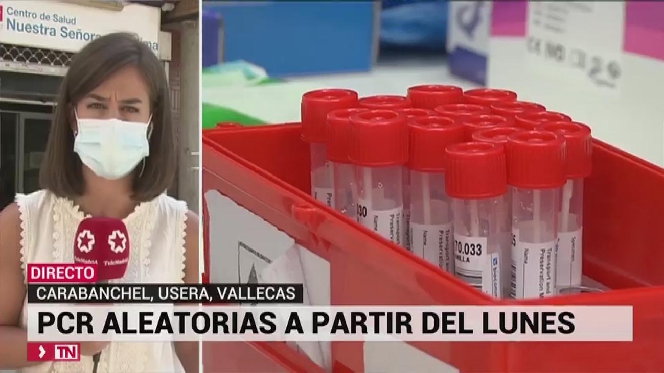 Carabanchel, Villaverde, Vallecas, Usera, Alcobendas y Móstoles, las zonas donde se realizarán test masivos