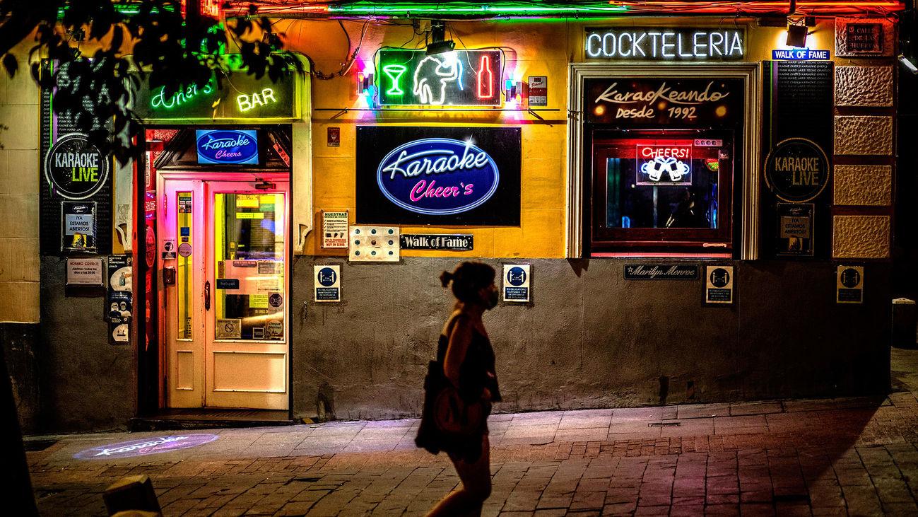 Ocio nocturno en Madrid