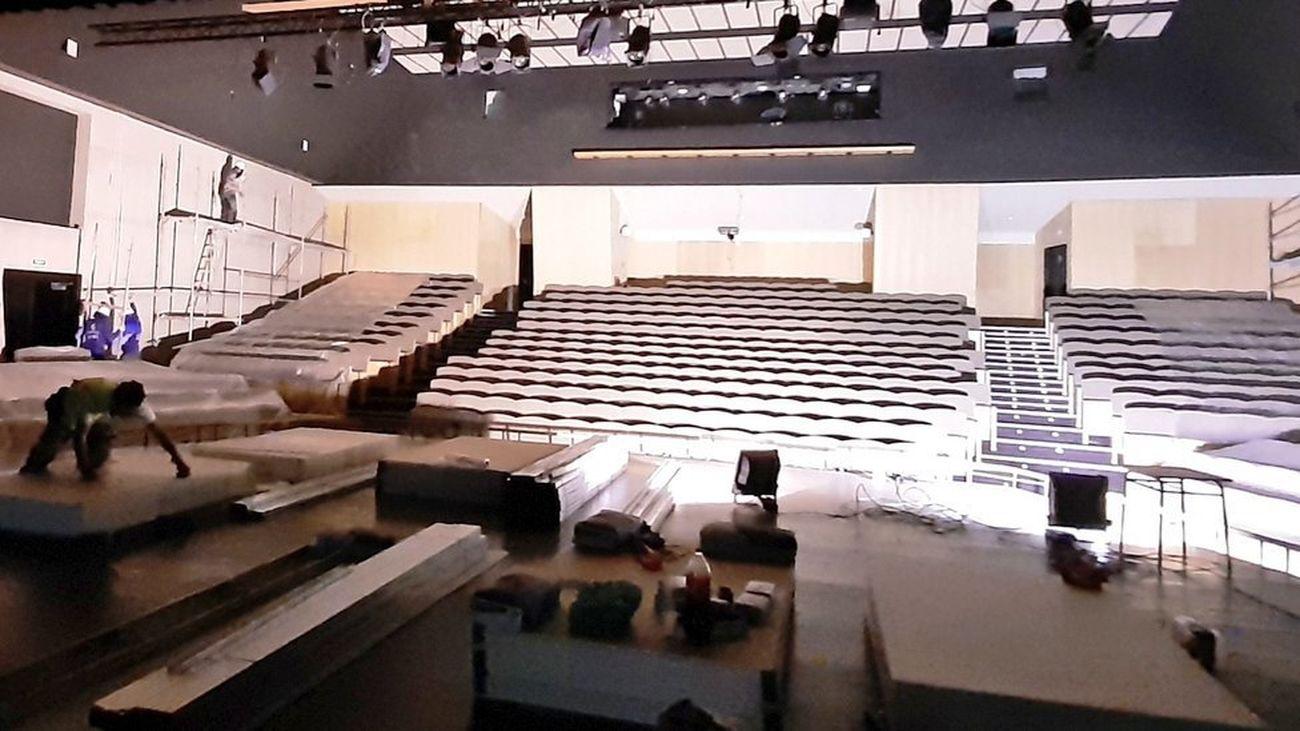 San Martín de la Vega inicia obras de mejora de su auditorio