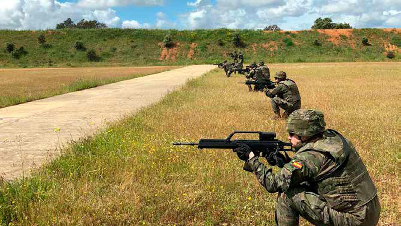 Soldados del Ejército de Tierra destacados en Malí