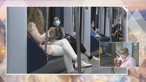 Madrid prohibe comer y beber en el metro para evitar contagios