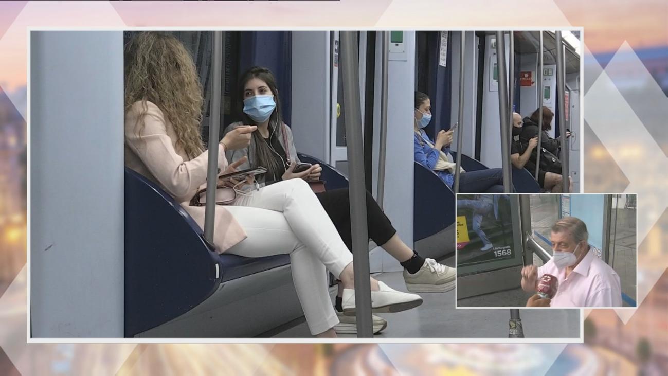 Madrid prohibe comer en el metro para evitar contagios