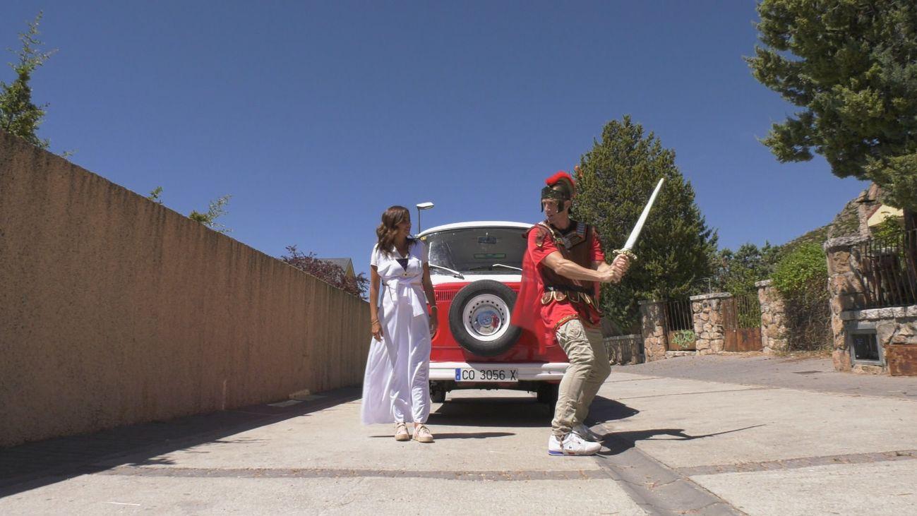 Dos en la carretera- Manzanares El Real