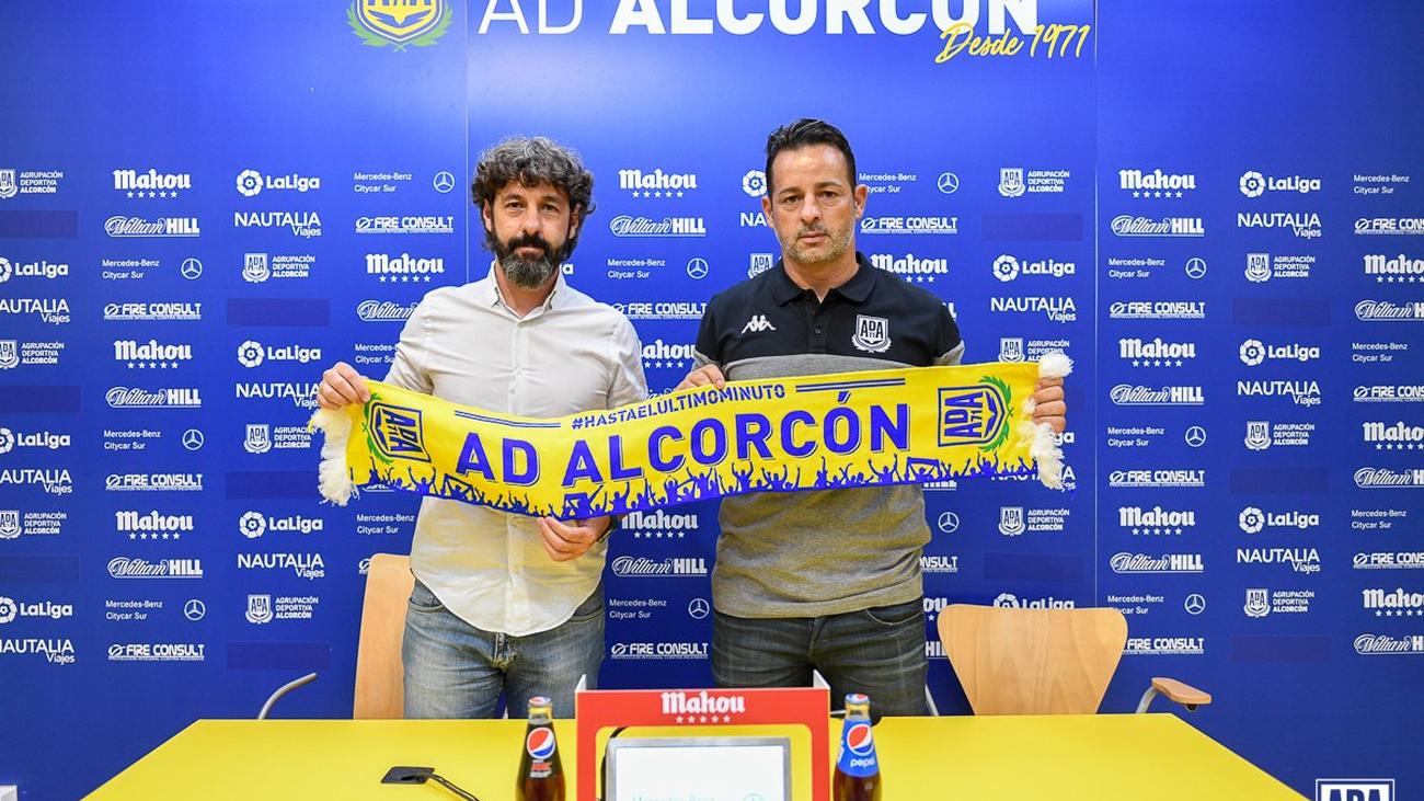 Mere llega al Alcorcón con el objetivo de la permanencia