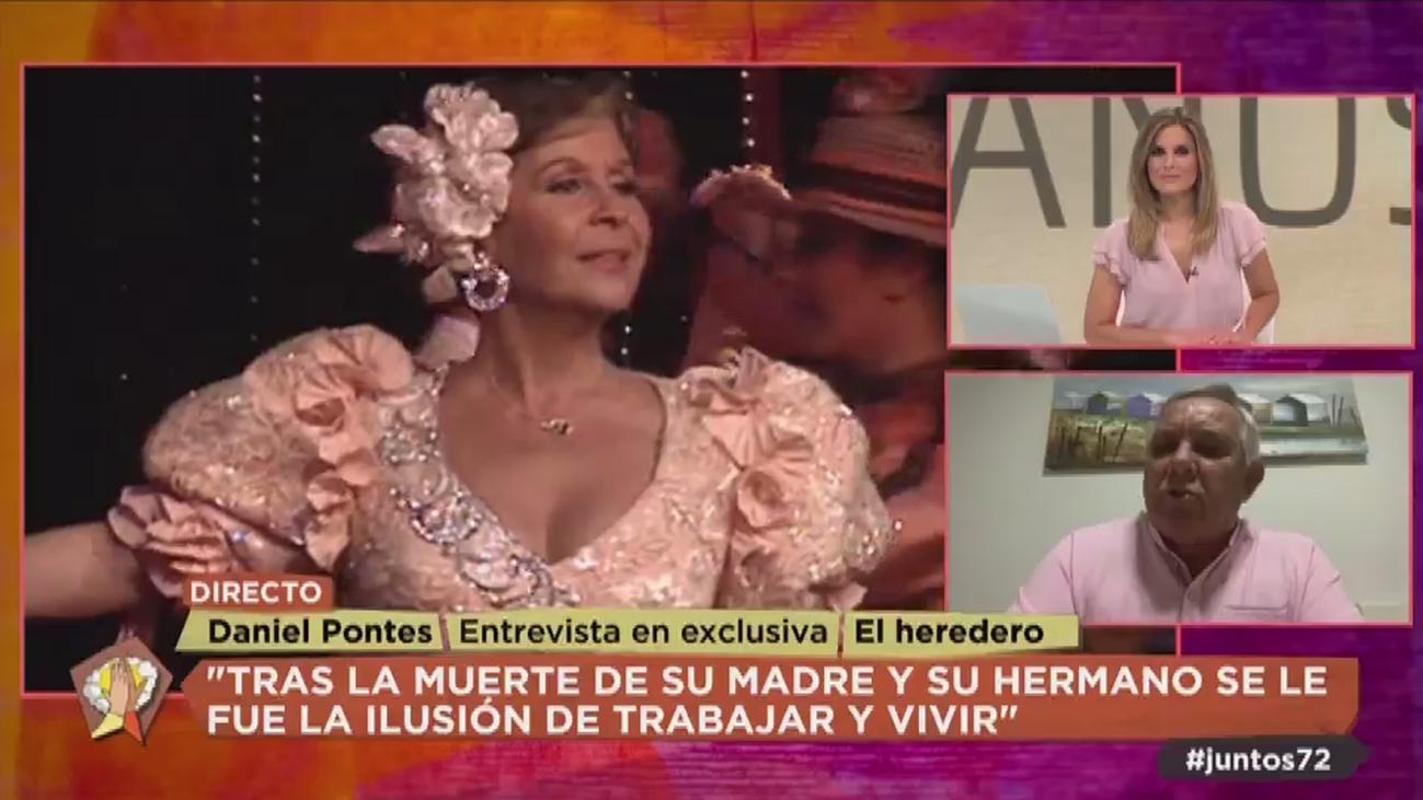 La entrevista más sincera de Daniel Pontes, el heredero de Lina Morgan