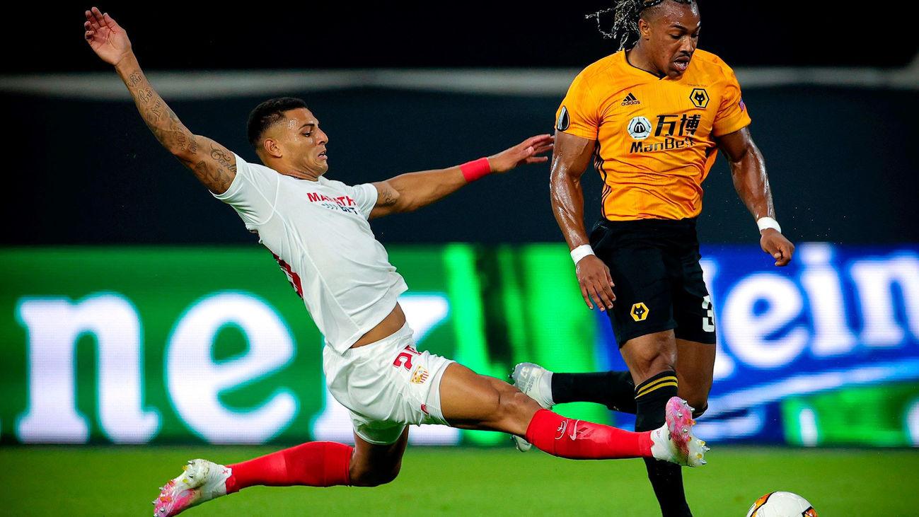 Adama Traoré fue la sensación de la semifinal de la Europa League por su potencia