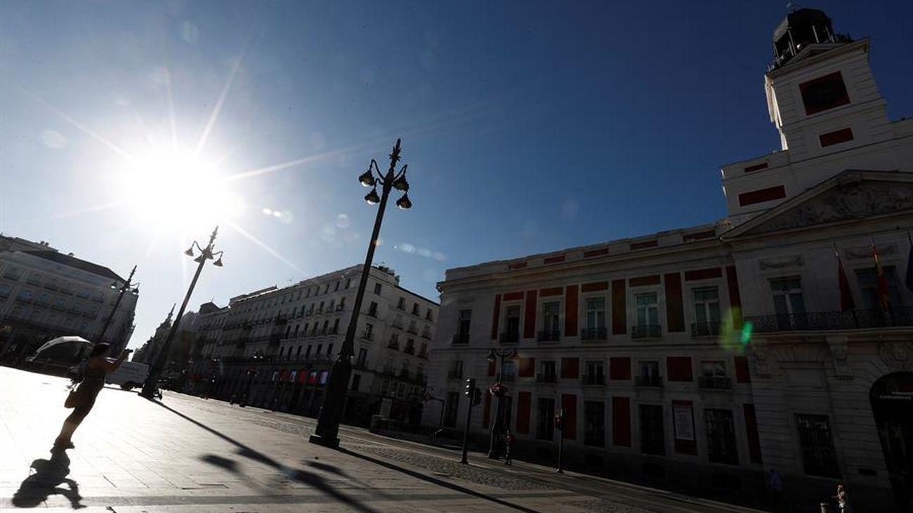 Puerta del Sol peatonalizada