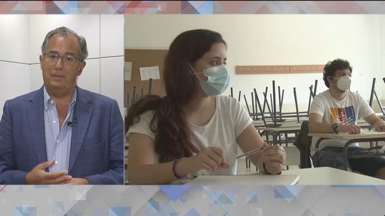Madrid contratará hasta 8.500 profesores más para desdoblar aulas si la pandemia continúa