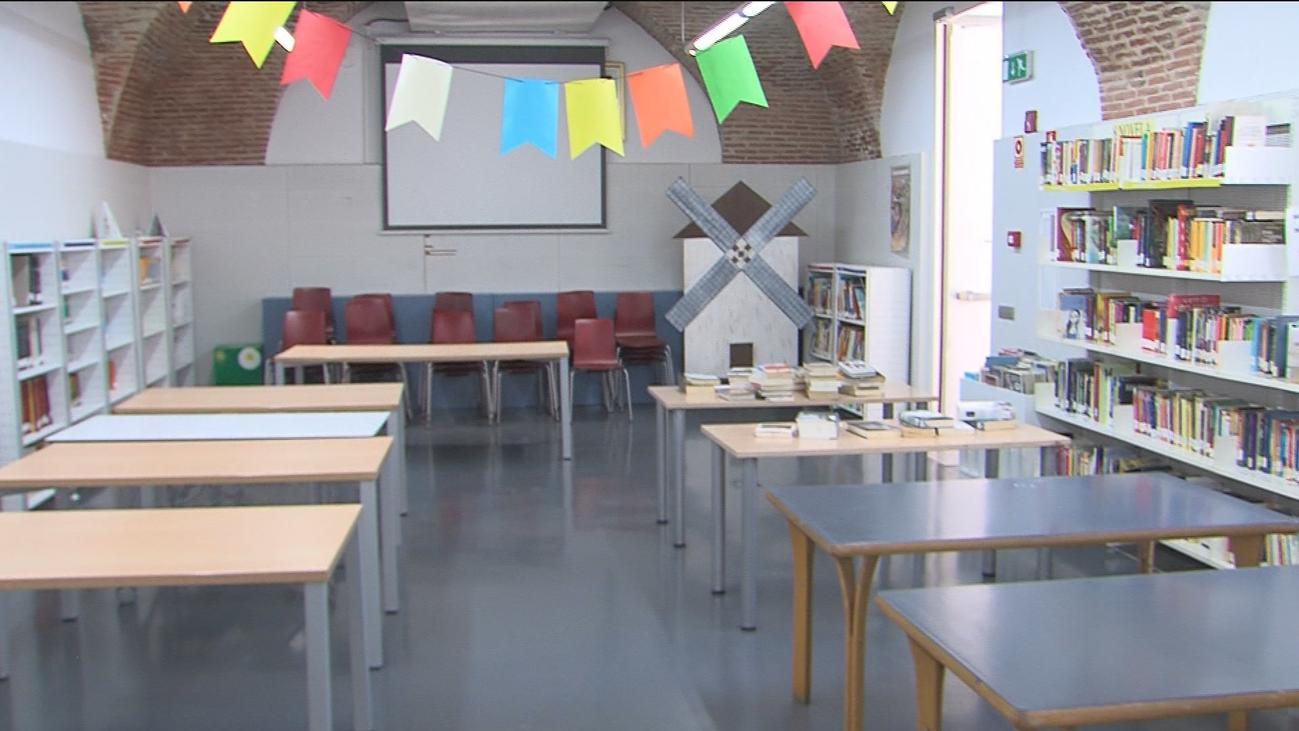 Habilitan espacios públicos para las clases en Algete