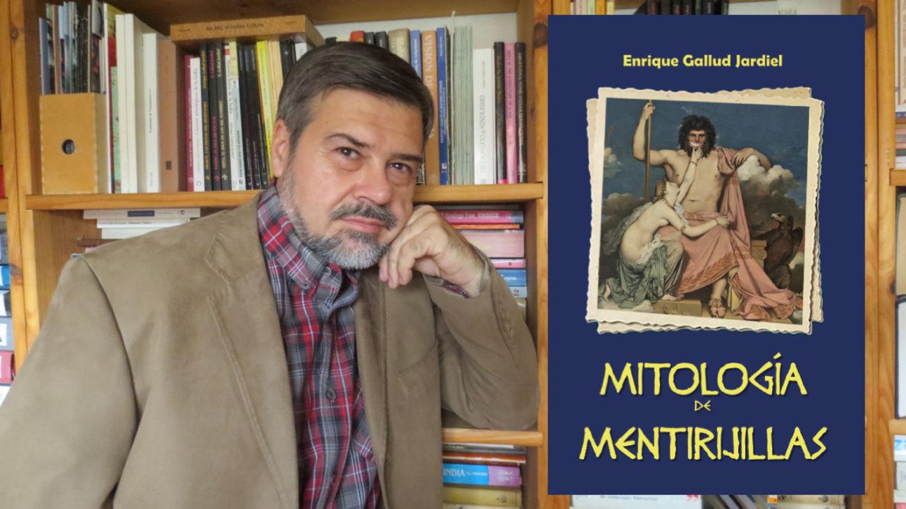 Enrique Gallud Jardiel (nieto de Jardiel Poncela) nos presenta su libro 'Mitología de mentirijillas'